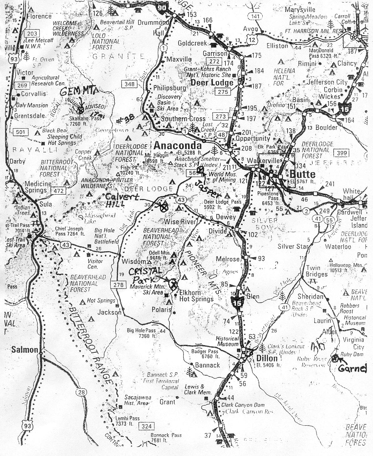 Worldwide Maps Of Gemstone Locations